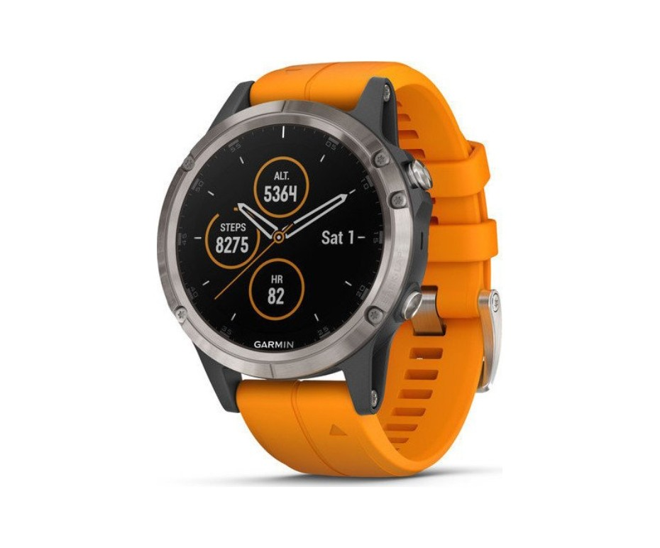 Garmin 5 Plus Sapphire Gps Smart Watch The Electrical Showroom