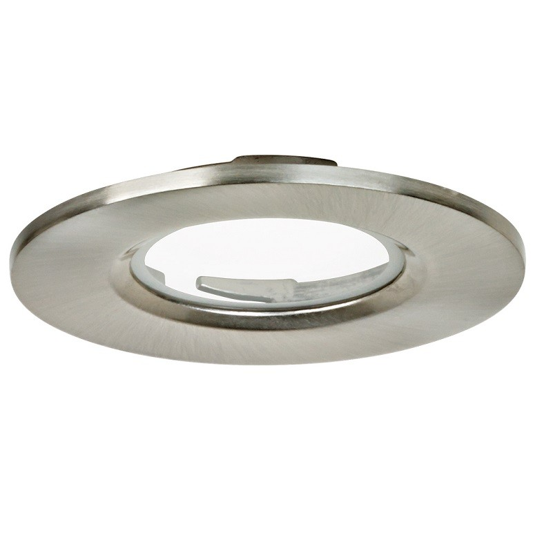 size 40 05233 dba6c Aurora Bezel for M7/M5 Fixed Fire Rated Downlights , Satin Nickel Finish