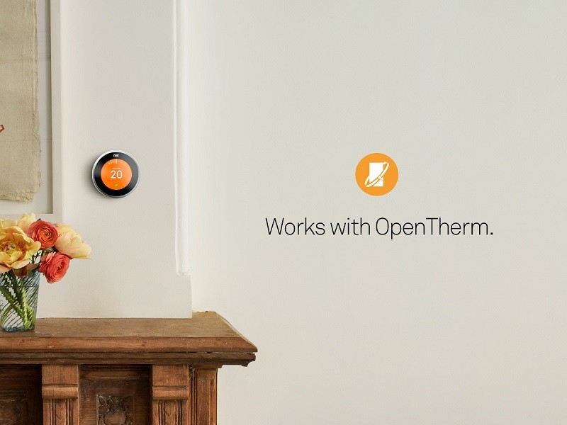 NEST COPPER THERMOSTAT FOR CENTRAL HEATING