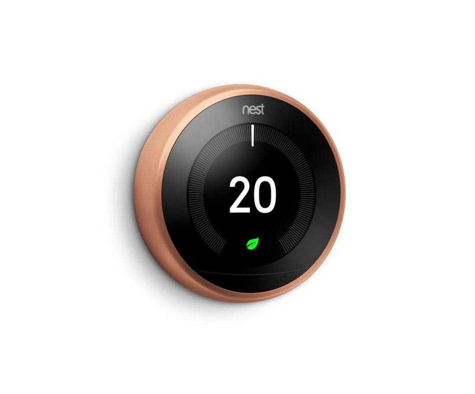 NEST ORANGE THERMOSTAT FOR CENTRAL HEATING