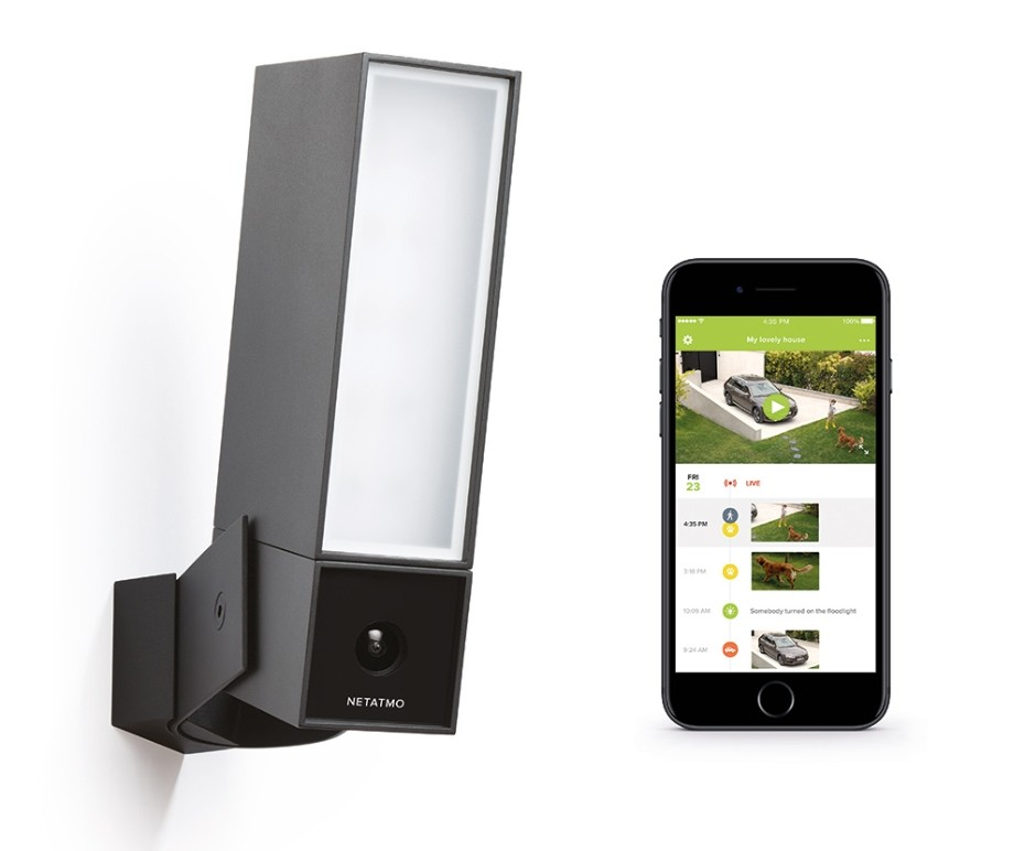 Netatmo Presence detecting Outdoor Security Camera