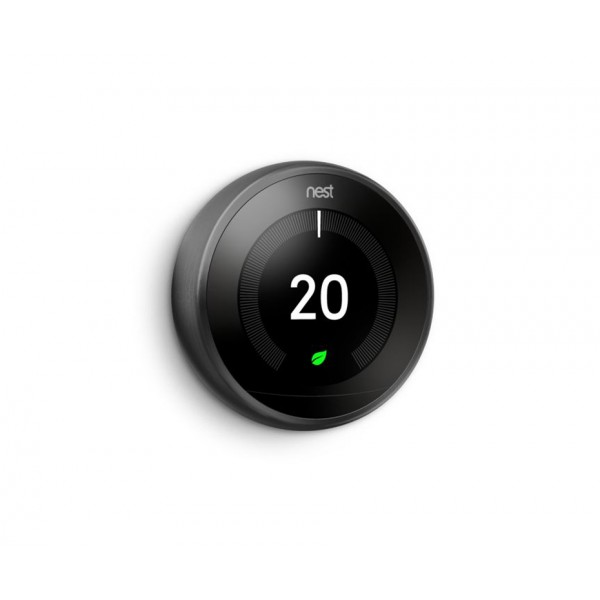 Google Nest® T3029EX Learning Thermostat - 3rd Generation, Black