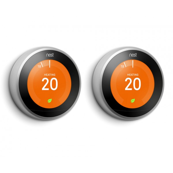 Nest® Learning Thermostat - 3rd Generation - TWIN PACK