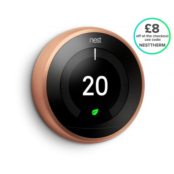 Nest® Learning Thermostat - 3rd Generation, Copper