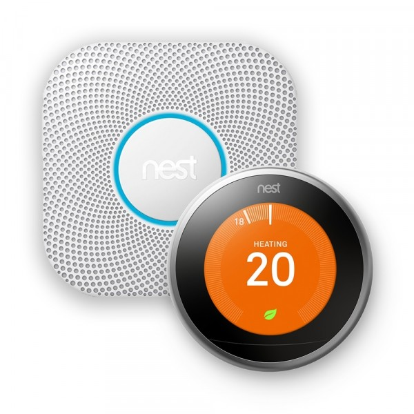 SPECIAL OFFER - Nest® Silver Learning Thermostat & Nest Protect Wired Smoke and CO Alarm