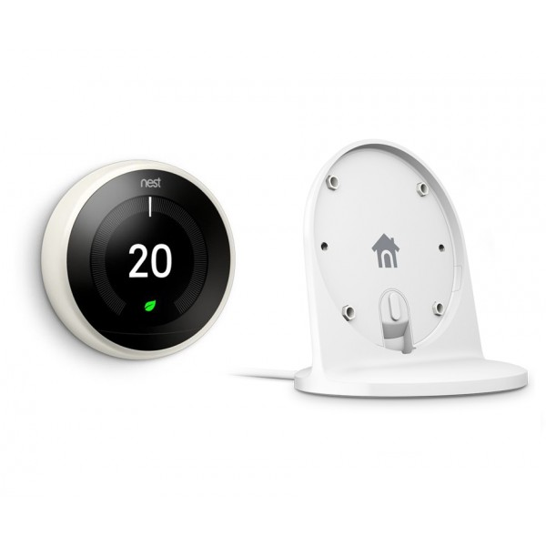 Nest® Learning Thermostat & Stand Special Offer - 3rd Generation, White