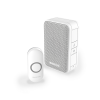 Honeywell Series 3 Wireless Portable Doorbell Kit, White