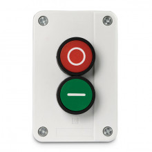 BG Industrial Enclosed Start/Stop Green and Red Switch