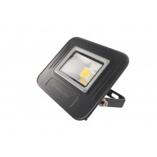 Super-Slim LED 30W Non-dimmable Floodlight, IP67, Black