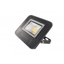 Super-Slim LED 50W Non-dimmable Floodlight, IP67, Black