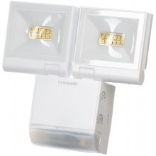 Timeguard LED Compact PIR Floodlight, 2 x 10W, White