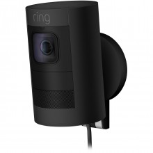Ring Smart Stick Up Cam Wired - Black