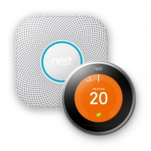 SPECIAL OFFER - Nest® Silver Learning Thermostat & Nest Protect Battery Smoke and CO Alarm